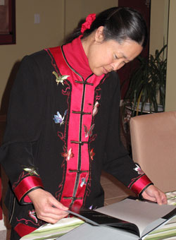 Debbie Burton at Chinese New Year