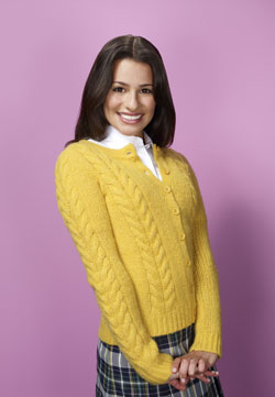 Lea Michelle in Glee.