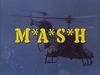 MASH TV title screen
