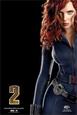 Scarlett Johansson Iron Man 2 poster