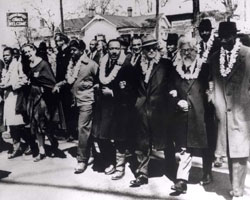 Selma March with Heschel
