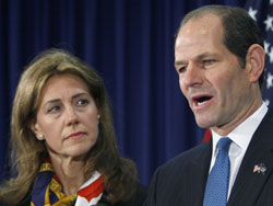 Eliot Spitzer resigns
