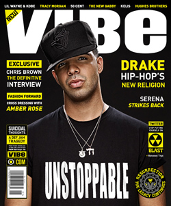 Drake on Vibe's Relaunch Cover