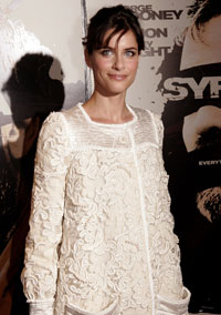 Amanda Peet wedding photos