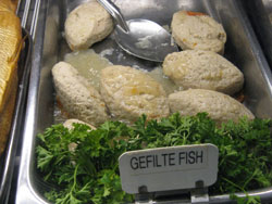 gefilte fish in LA deli from flickr