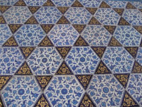 floor tiles in Istanbul photographed by David Kolker