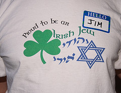 Jewish-Irish t-shirt by Daniel Greene