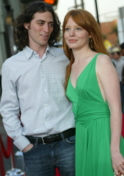Lauren Ambrose and Sam Heller