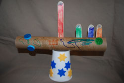 little kid menorah
