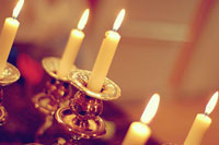 Shabbat Candles by Jordan Chark