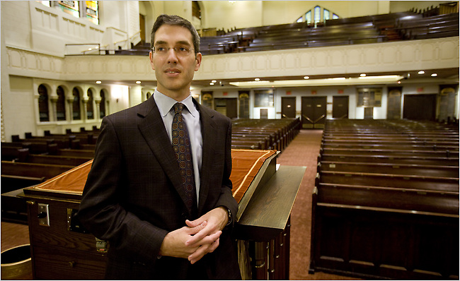 Rabbi Elliot Cosgrove of NYC's Park Avenue Synagogue