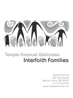 Temple Emanuel's Interfaith Families Pamphlet