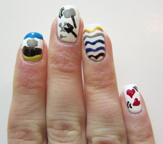 Interpreting the Vayakhel-Pekudei double portion through nail design!