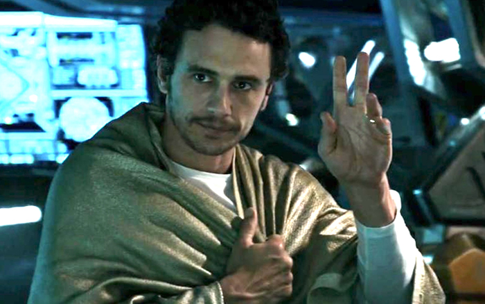 James Franco in Alien: Covenant