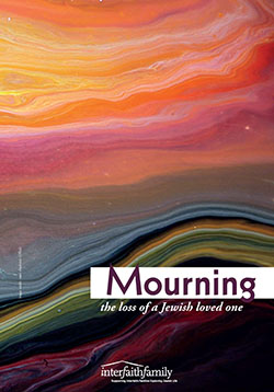 Mourning the loss of a Jewish loved one