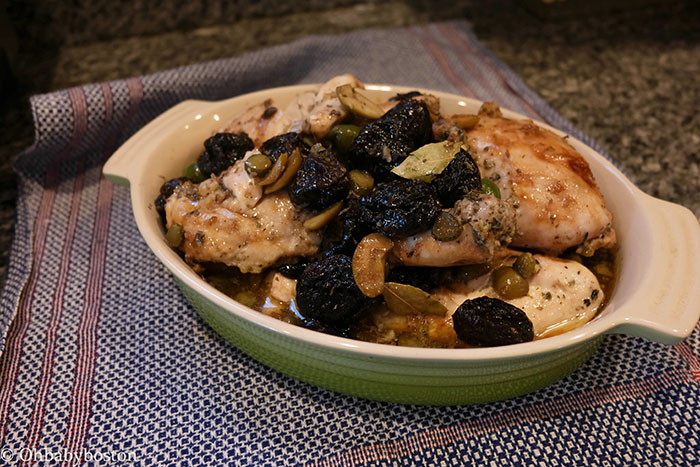 Tu Bishvat Marbella Chicken with Nutty Barley Pilaf