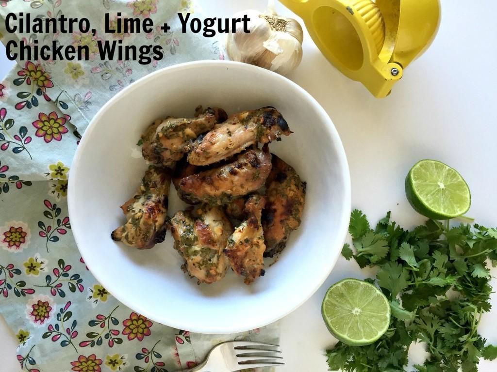 Sha-barbecue Cilantro, Lime & Yogurt Chicken Wings