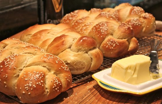 Guinness Challah for St. Patty's Day