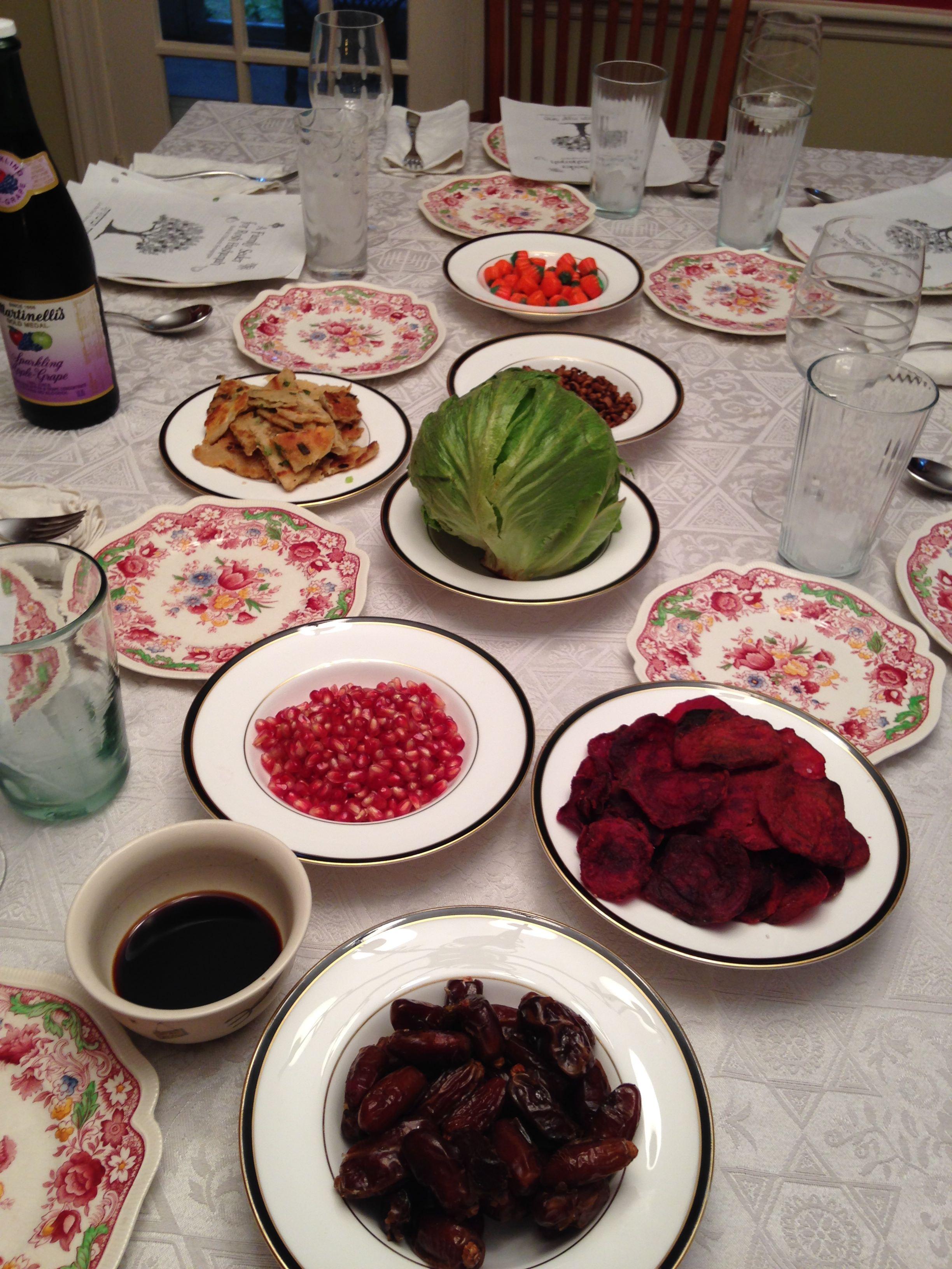 Our First Rosh Hashanah Seder Interfaithfamily