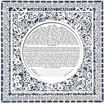 This is our favorite Ketubah design!