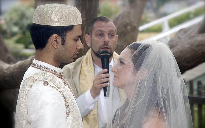 Elana's Jewish wedding. Photo by Peter Dressel