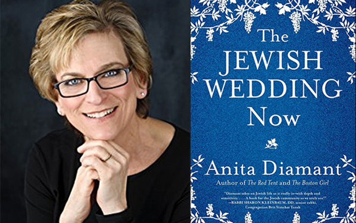 Q&A with Anita Diamant on The Jewish Wedding Now