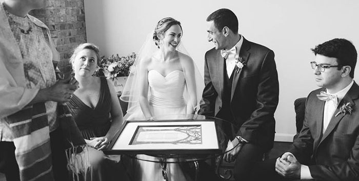 The Ketubah/Marriage Contract