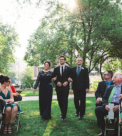 Wedding Ceremony Processional | What Are The Elements Of A Jewish Wedding Ceremony Interfaithfamily