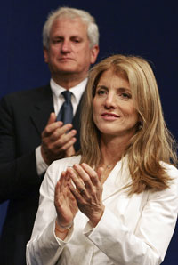 Caroline Kennedy Schlossberg and husband Edwin