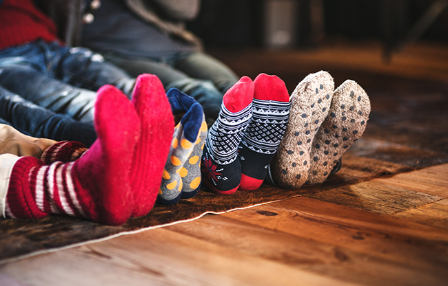family of socks