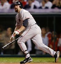 Kevin Youkilis hits a home run