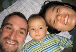 the Leavitt Kim family