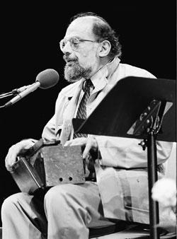 Allen Ginsberg in 1984