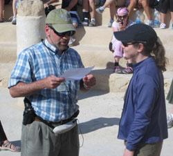 Hannah at Masada