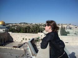 Hannah Dayan in Jerusalem