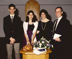 Emily Savage bat mitzvah photo