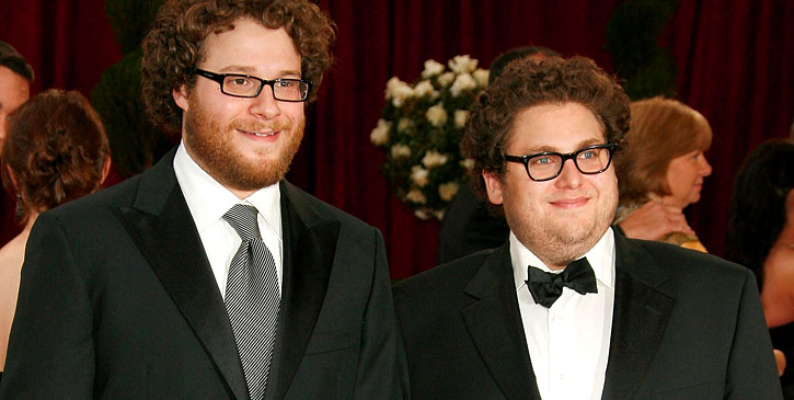 Seth Rogen and Jonah Hill