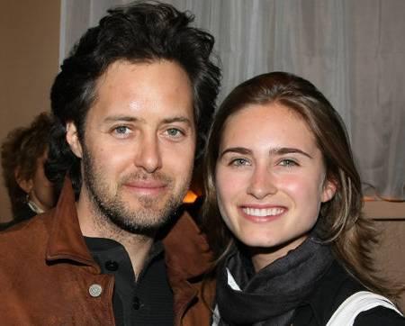 David Lauren and Lauren Bush