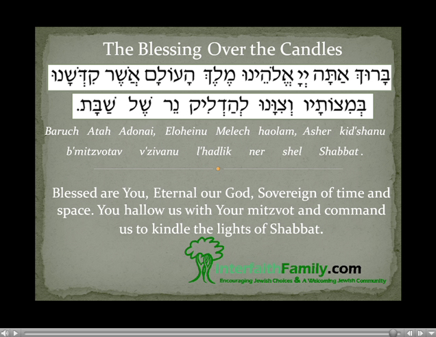 Blessing Over The Shabbat Candles Interfaithfamily  sc 1 st  Lilianduval & Lighting Shabbat Candles Prayer - Lilianduval azcodes.com
