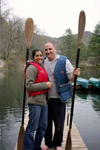Rameez and her husband