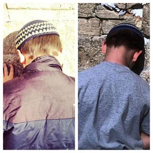 Dan's children in Israel