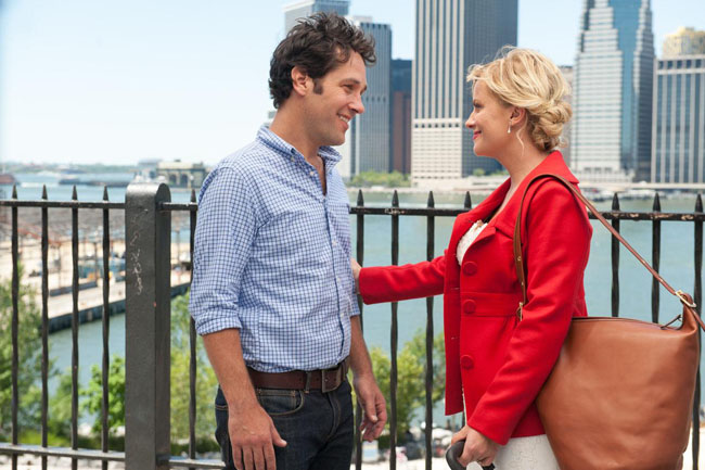 Paul Rudd & Amy Poehler