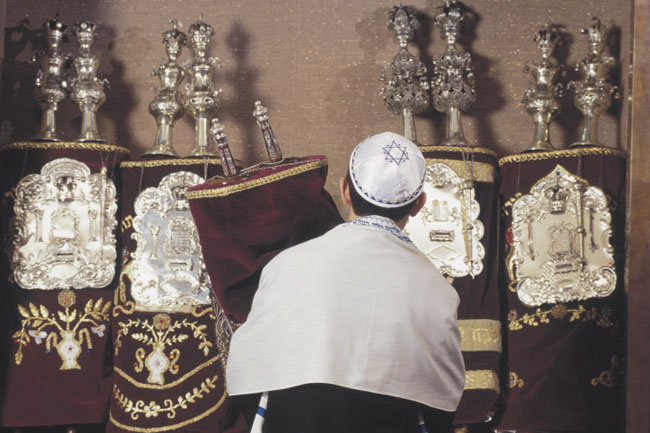 Becoming a Bar Mitzvah