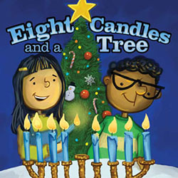 Eight Candles and a Tree Book Cover