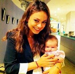 Mila and baby Wyatt