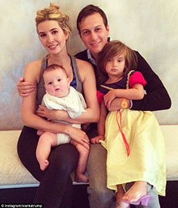 Ivanka and family