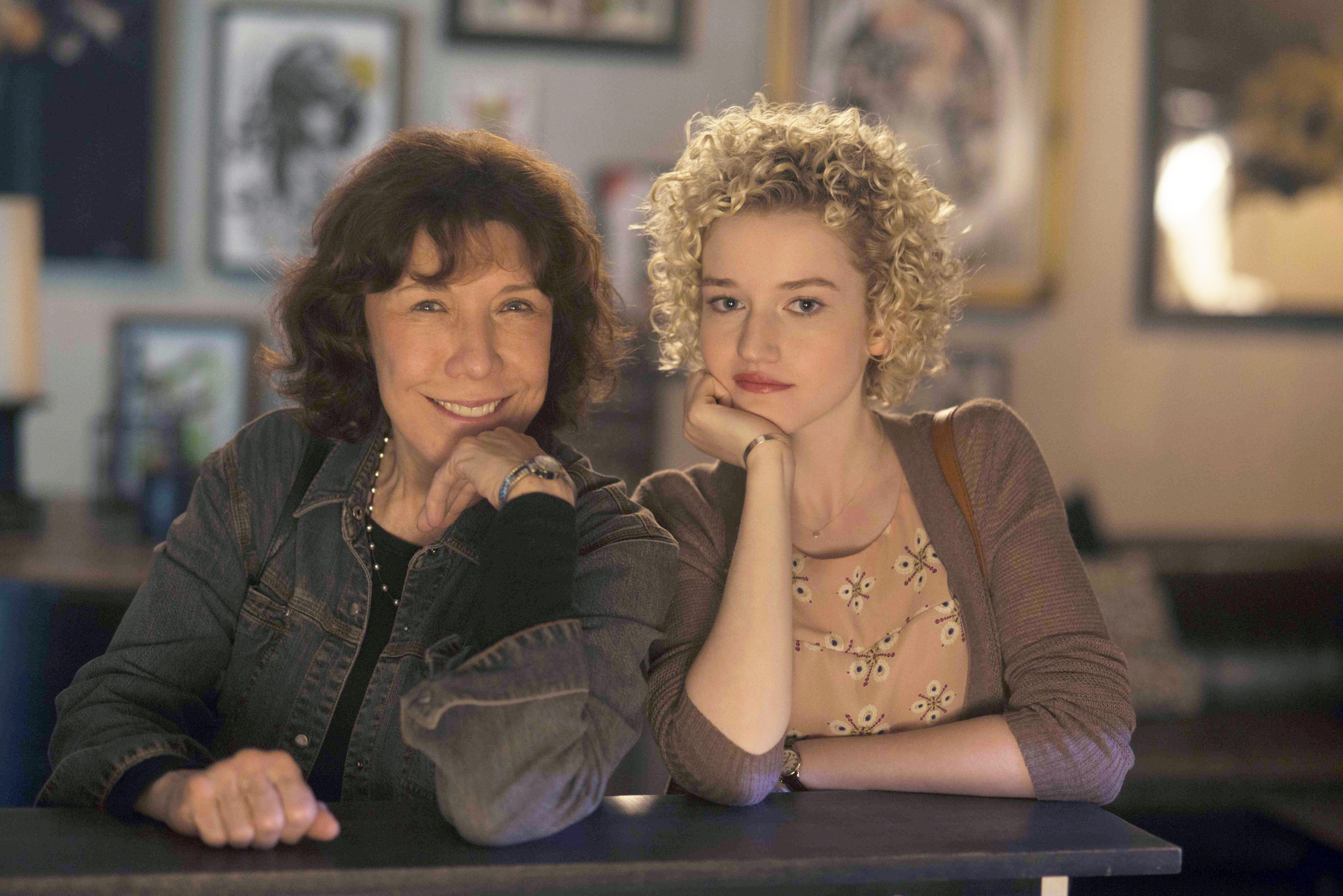 Lily Tomlin and Julia Garner