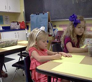 Mirabelle at JCC preschool