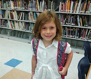 Mirabelle starting second grade