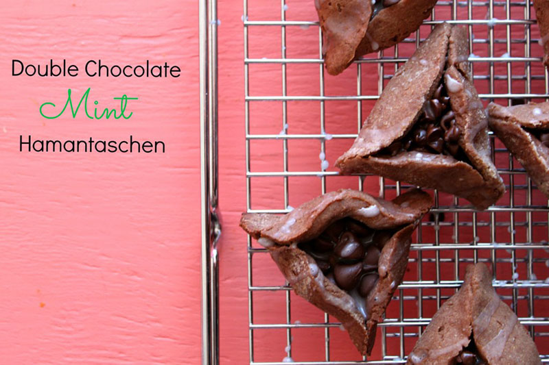 chocolate mint hamantaschen